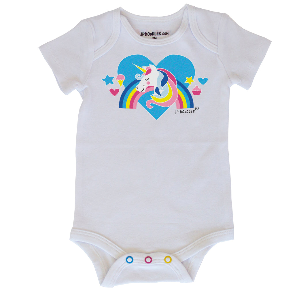 Unicorn Baby Bodysuit