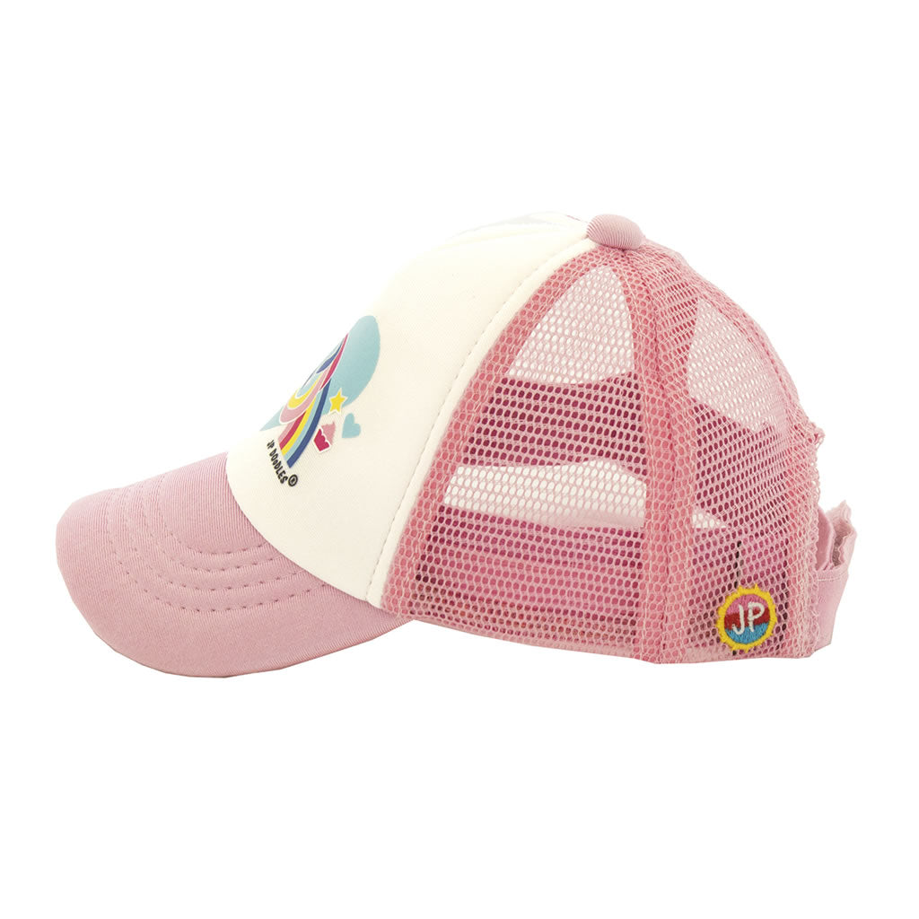 Unicorn Baby Trucker Hat Side View
