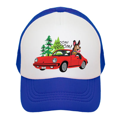 Porsche Vroom! Kids Trucker Hat