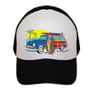 Woodie on Black Baby Infant Toddler Kids Trucker Hat