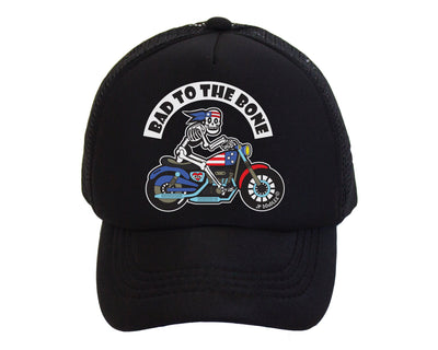 Bad to the Bone Kids Trucker Hat 1d36b305dc5f