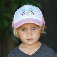 Unicorn Kids Trucker Hat