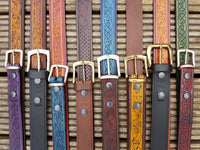 Celtic Belts and Hand Dyed Belts