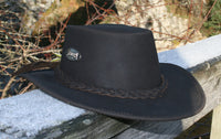 Bush Hat Made in Scotland by Loch Ness Leather