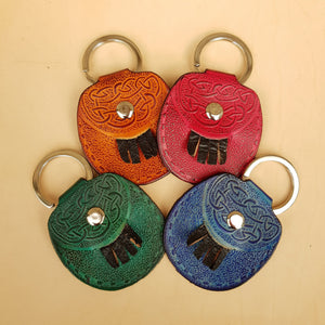 Leather sporran Keyring