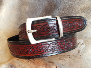 Red Celtic Belt
