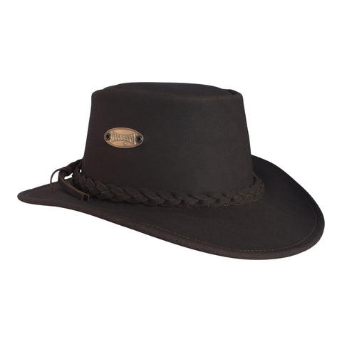 Tough Leather Bush Hat