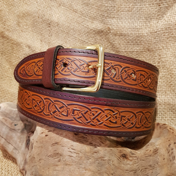 Wide Brown Celtic Knot
