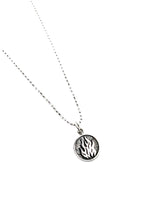 The Fire Element - Sterling silver Charm Pendant chain