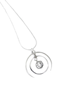 """The Sacred Geometry"" - Limited edition Sterling silver Pendant chain"