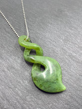 The Green stone - Pounamu- Mystical Maori Shaped New Zealand Jade Pendants finished in sterling silver