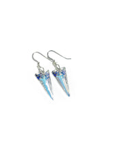 """Icicle drops"" - Sterling silver & Crystal Earrings"