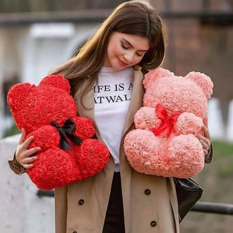 (Valentine's Day Sale-50%OFF) - Flower Teddy Bear