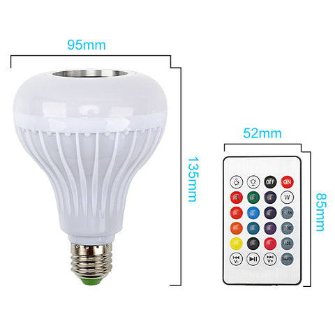 Bluetooth Speaker Light Bulb