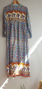 "Folk the Label ""Fields of Gold"" dress in Tumeric size S"