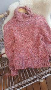 Vintage Millers cable knit Turtle Neck Sweater size M -wool blend-