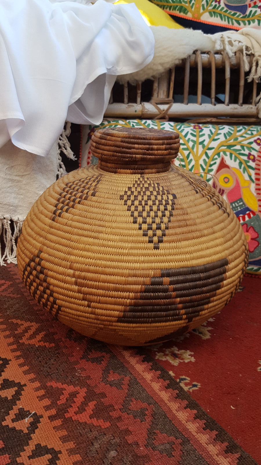 Native American Indian Rattan basket