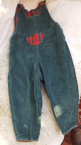 toddler vintage cord overalls