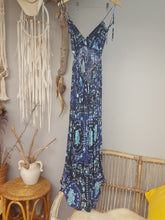 Boho Blossom blue dress