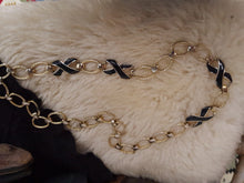 Vintage chain necklace seen on chasing unicorns models ROCK IT!!