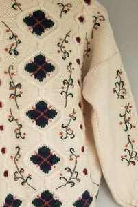 Vintage 80s Wool jumper