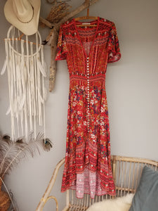 Label of love  bohemian floral dress size S