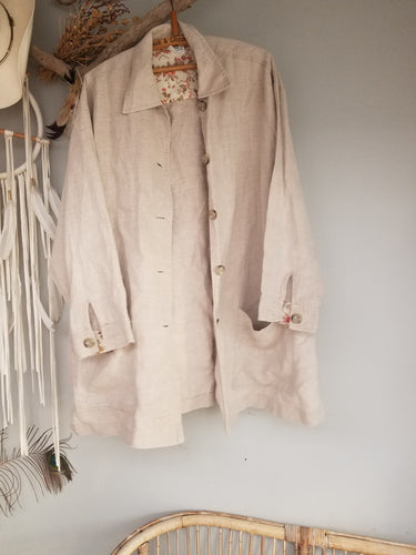 Laura Ashley linen shirt