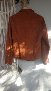 tan cord shirt/jacket size 10