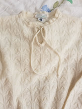 Genuine vintage pie wool pullover knit jumper 70s style