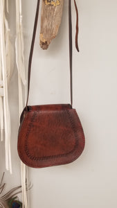 Leather Elf aztec bag