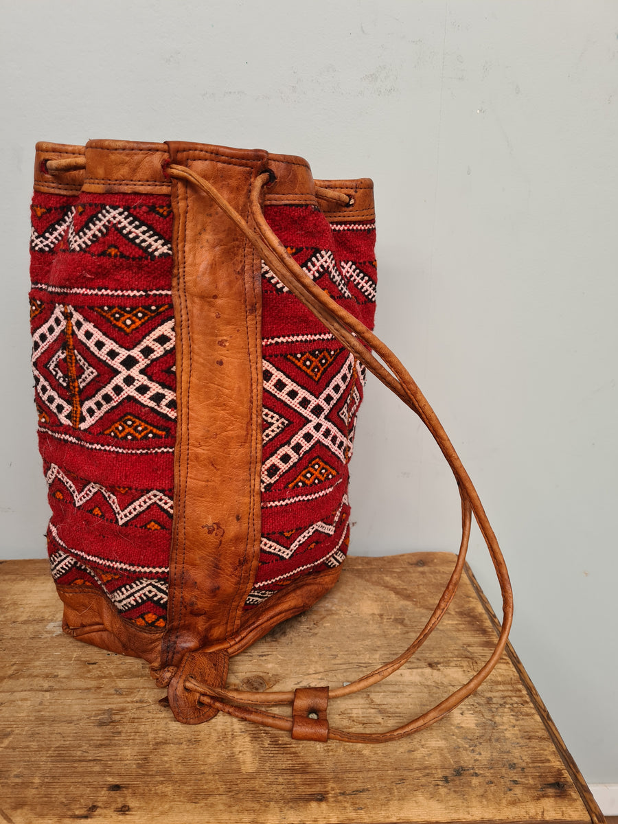 South American Aztec backpack