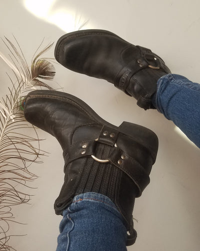 Blackjack boots size UK mens 8 womans 10