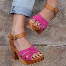 South of the Border SAGE SANDALS - PINK SUEDE size 36