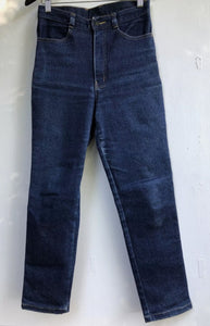 Vintage high waisted straight leg stretch Faberge Reggae jeans size 10