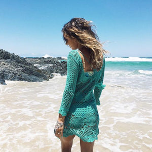 Spell and the Gypsy mermaid crochet dress