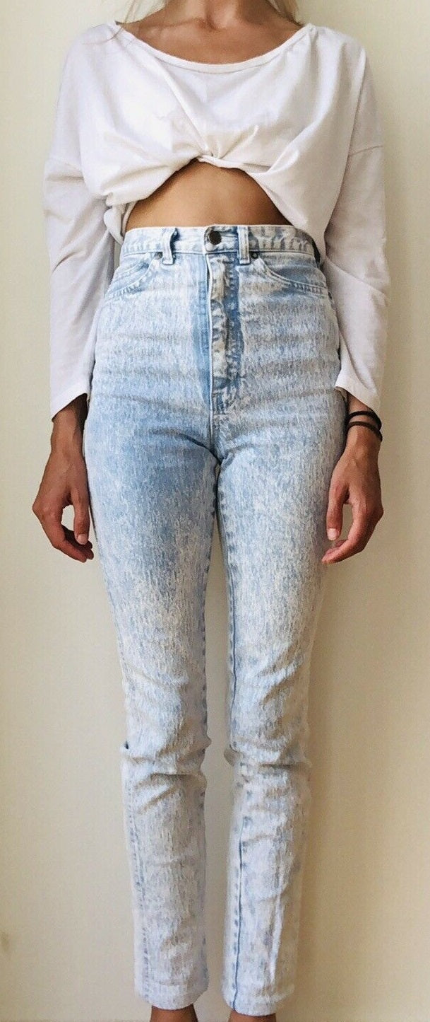 Faberge high wasted jeans size 6