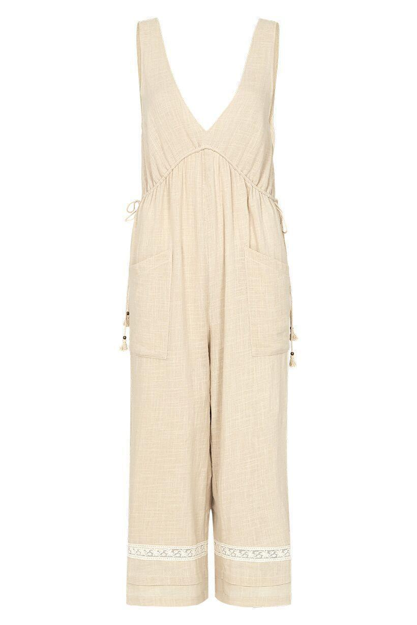 SPELL PALOMA JUMPSUIT NEUTRAL XXS