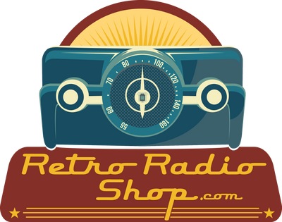 Retro Radio Shop Vintage Retro Antique Tube Radios With Bluetooth