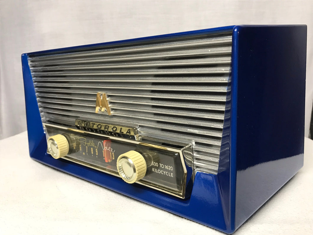 "Gorgeous Motorola MK-66X ""Golden Voice"" tube radio"