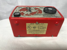 "Arvin ""Hopalong Cassidy"" Midget Tube Radio With Bluetooth input."