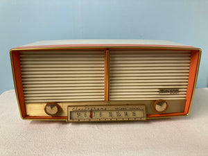 Electrohome Roland Series 6T-8 Tube Radio With Bluetooth input.
