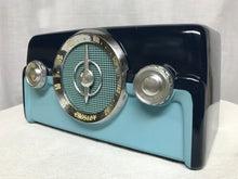 "1950 Crosley 10-138 ""Dashboard"" Tube Radio With Bluetooth input."