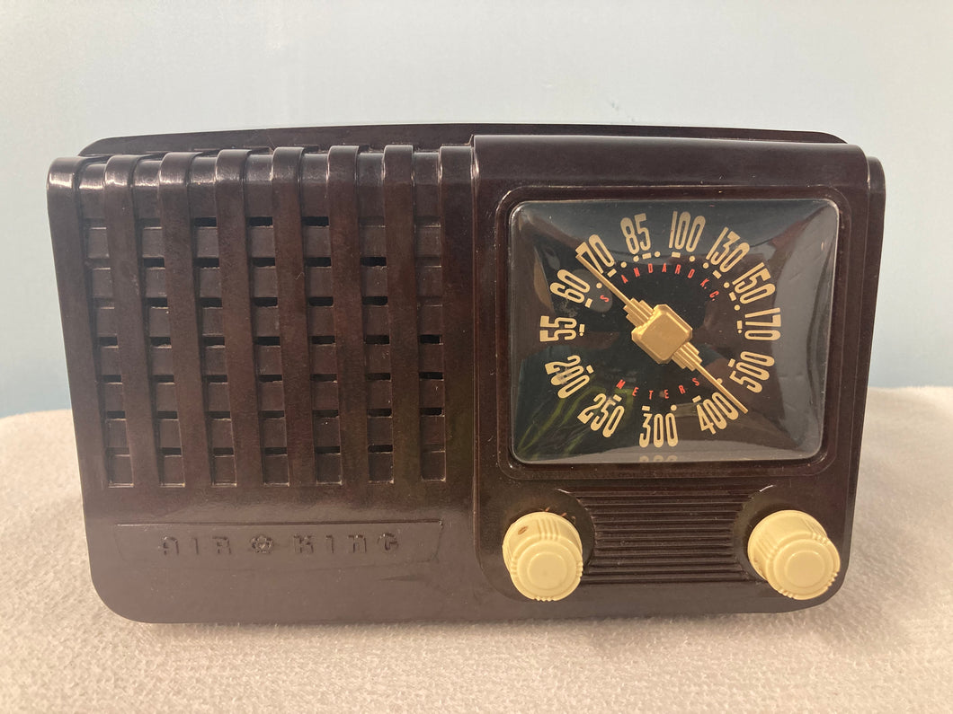 Air King 511 Tube Radio With Bluetooth input.