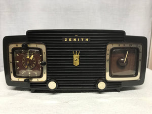 Zenith L520 Tube Clock Radio With Bluetooth Input Antique Retro. Zenith L520 Tube Clock Radio. Wiring. Zenith Tube Clock Radio Schematics At Scoala.co