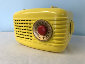 "Westinghouse 501 ""Refrigerator "" Tube Radio With Bluetooth input."