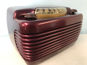 "Philco 75  ""Hippo""  Tube Radio With Bluetooth input."