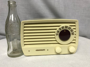 Crosley 5106 Midget Tube Radio With Bluetooth input.