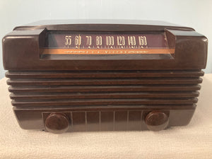 1947 RCA Little Master II Tube Radio With Bluetooth & FM Options