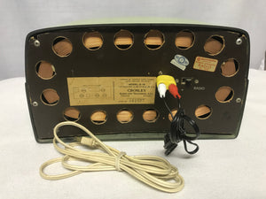 "1953 Crosley E-15 ""Dashboard"" Tube Radio With Bluetooth input."