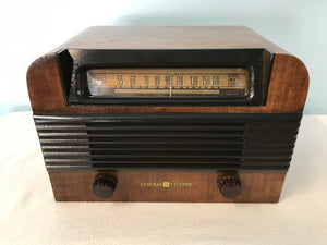 General Electric CL-541 Tube Radio With Bluetooth input.
